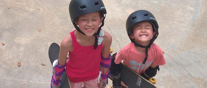 stagiaires kids skate school, skatepark Bayonne