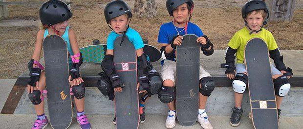 satgiaires cours skateboard kids skate school Biarritz